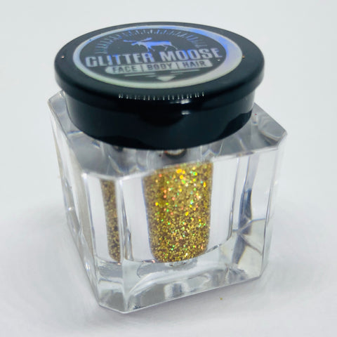 Holo - Fine Holographic Gold Cosmetic Glitter