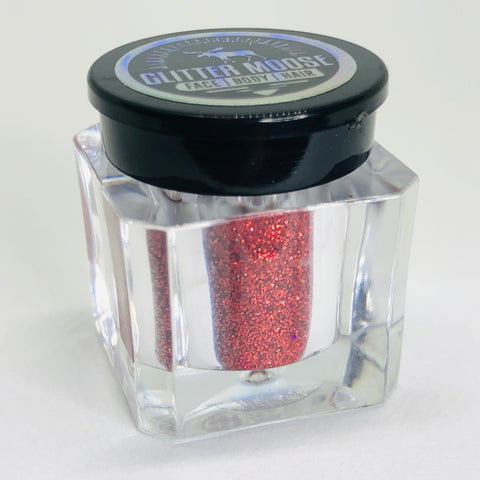 Oh Me - Fine Holographic Red Cosmetic Glitter