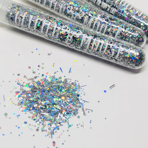Silver Linings - Silver Holographic Loose Festival Glitter