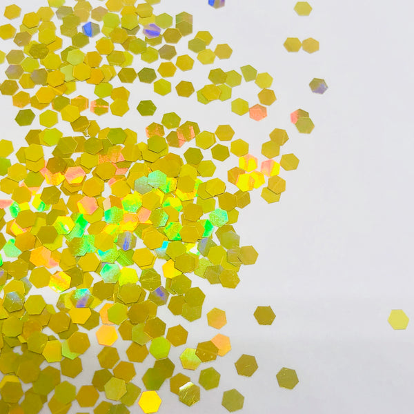 24K - Holographic Gold Cosmetic Glitter