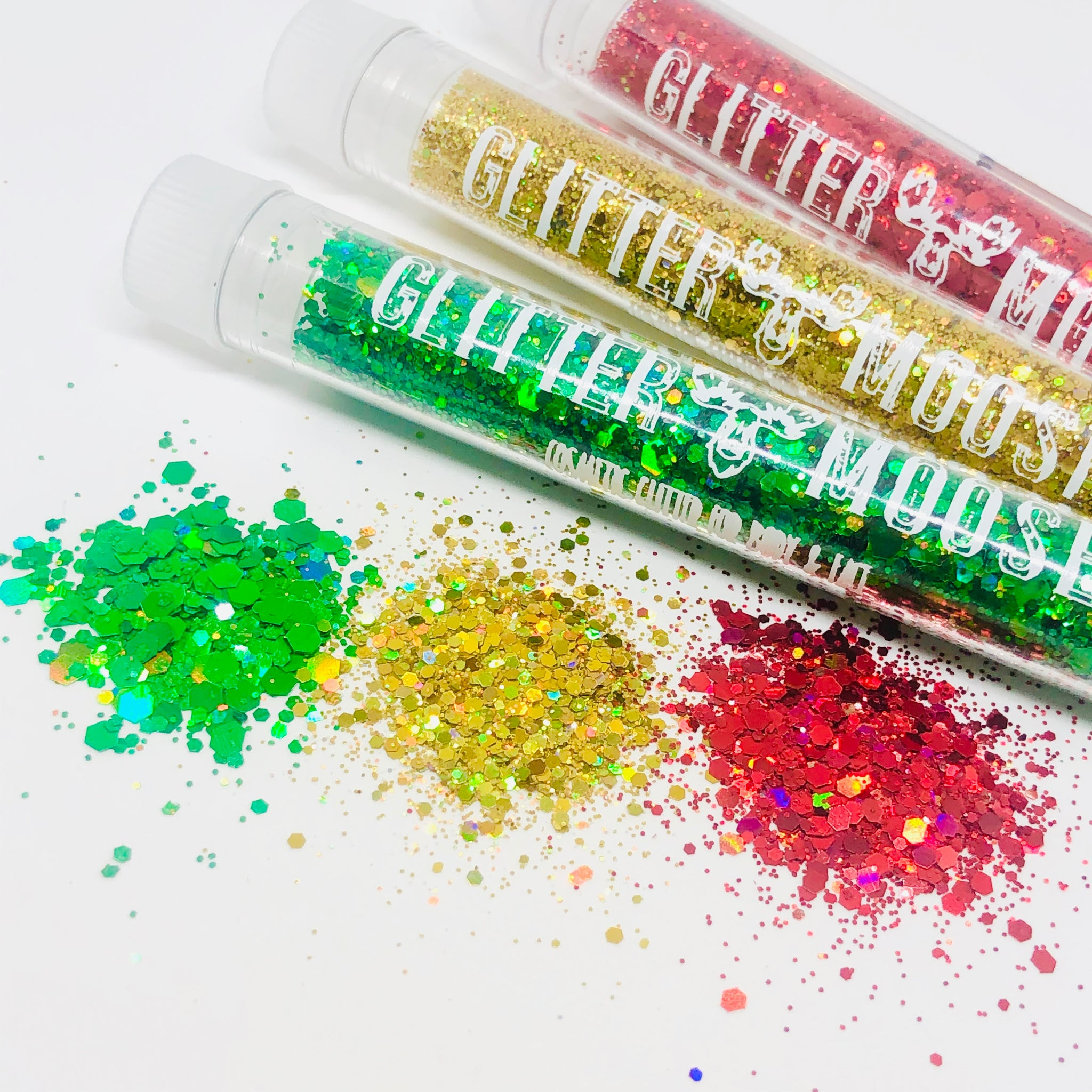 Happy Holodays: Naughty Not Nice Set - Holoday Cosmetic  Glitter Collection