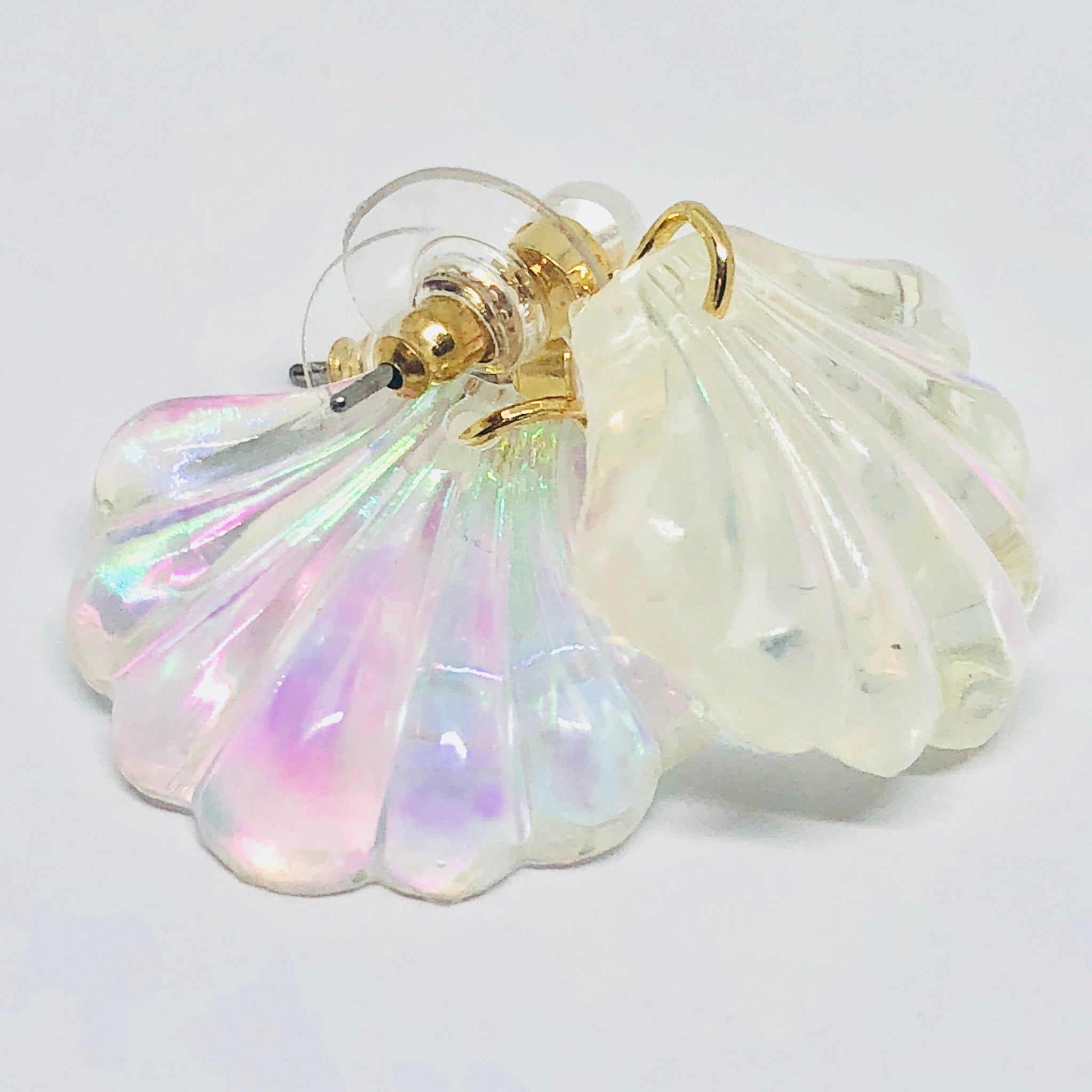 Marina - Iridescent Sea Shell Earrings