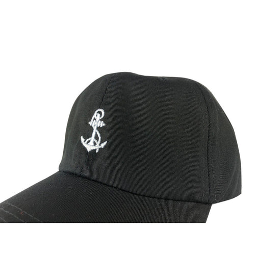 Baseball Cap Black - ANCHOR