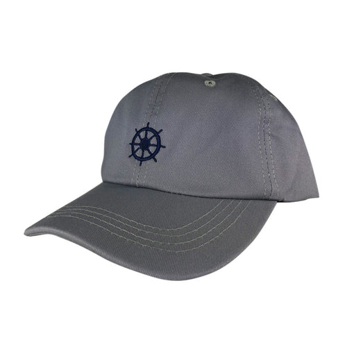 Baseball Cap Grey - SHIPS WHEEL