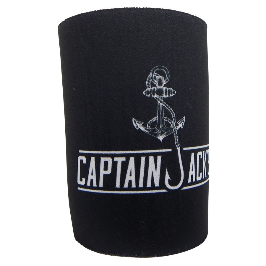 Stubby Cooler - Captain Jack's Black & White