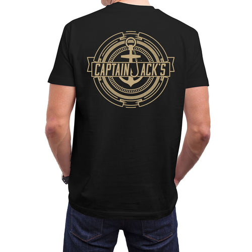 TREASURE Short Sleeve Black/Gold Tee