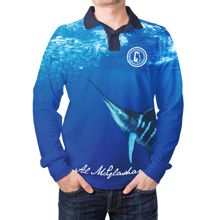 Al McGlashan Striped Marlin Fishing Shirt
