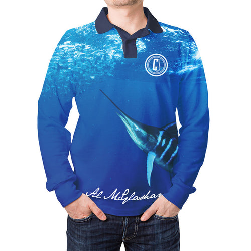 Kids Al McGlashan Striped Marlin Fishing Shirt