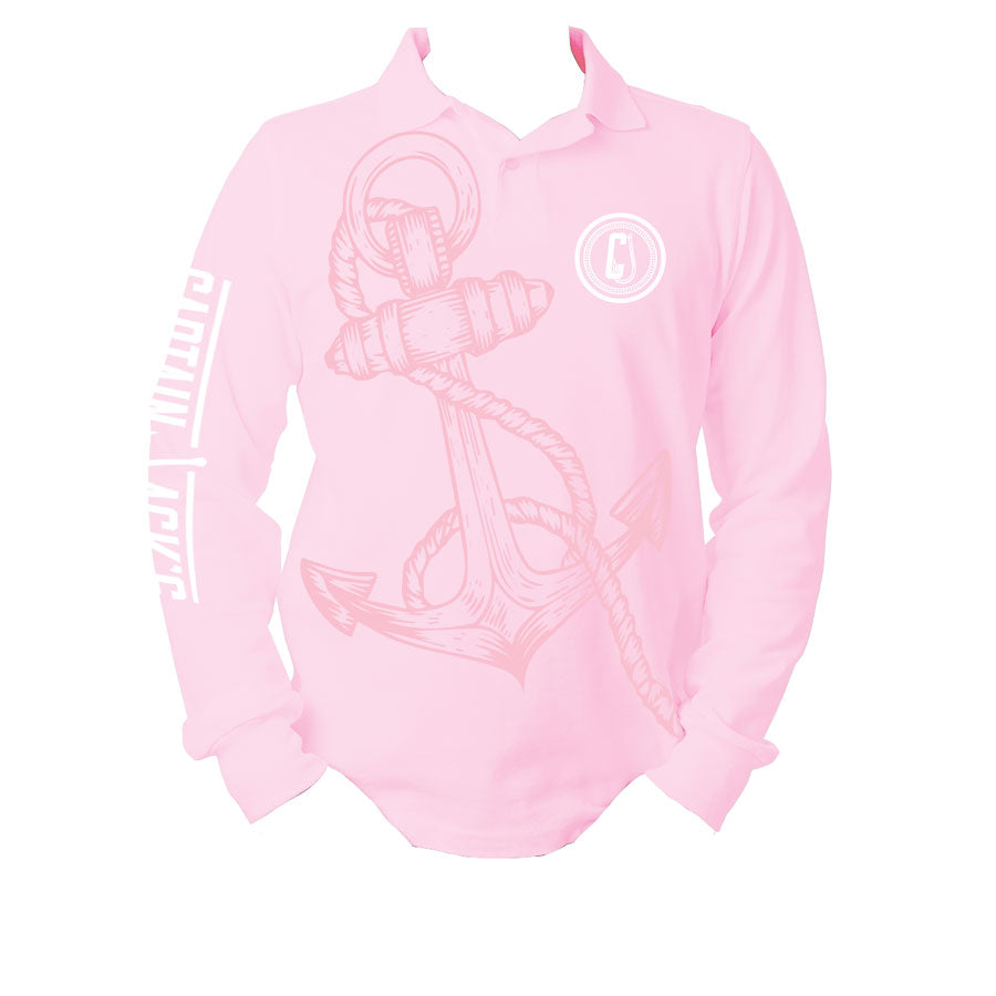 Fishing Shirt Pink - Hook & Anchor
