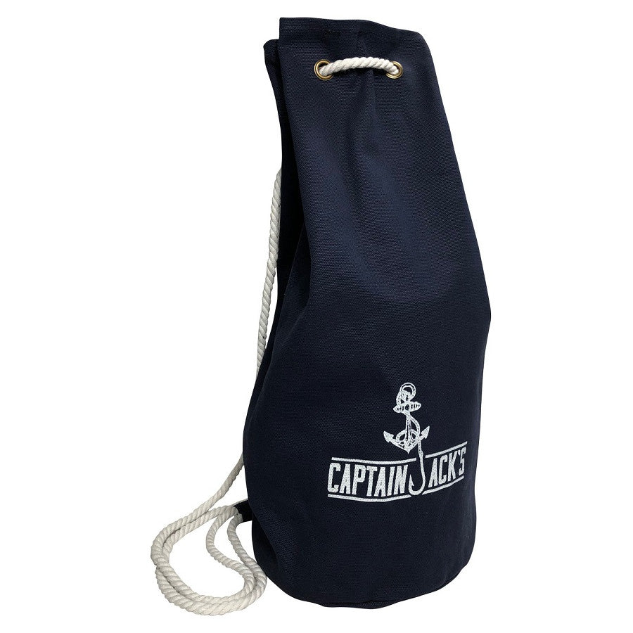 Captain Jack's Canvas Navy Bag