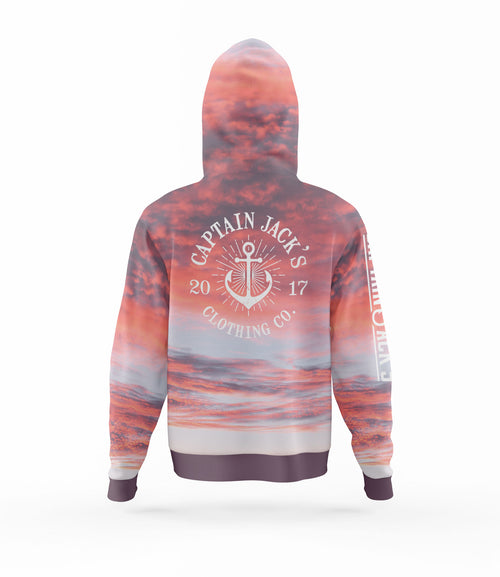 Outdoor / Fishing Shirt - SUNSET HOODIE