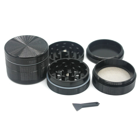 4 Layers CNC Cut Aluminium Grinder/Muller 50mm