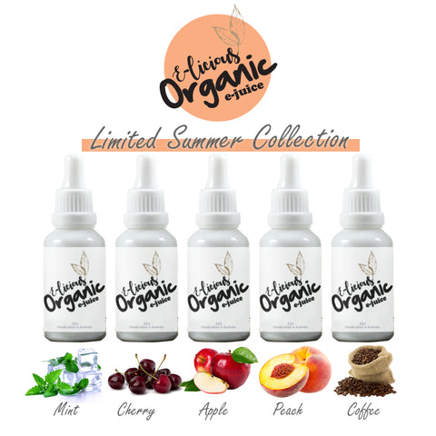 E-licious Organic Ejuice Summer Collection - Limited Edition