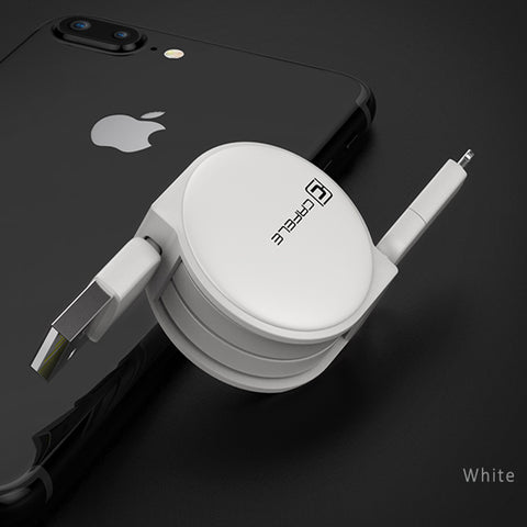 cafele retractable iphone 2 in 1 lightning cable smoodee shop