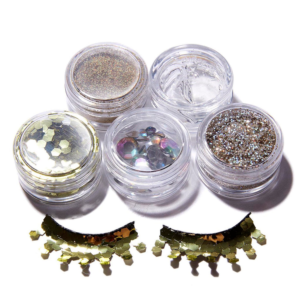 From NicLove | Gold Goddess Cosmetic Glitter Face Pack - Australia