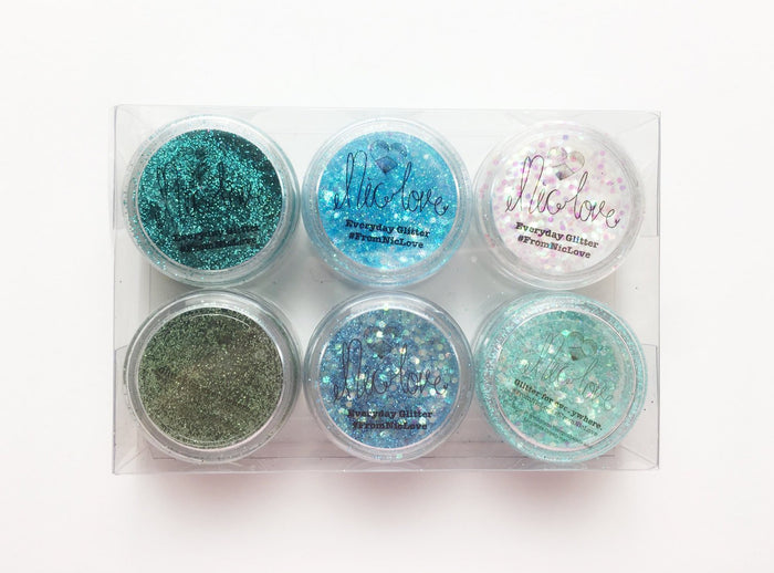 From NicLove | Mermaid Blue Festival Face Pack - Australia