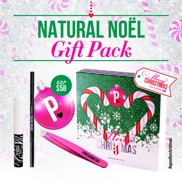PONI COSMETICS | Christmas Natural Noel Beauty Pack - Australia