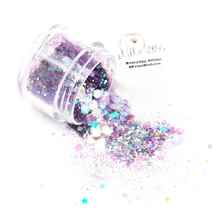 From NicLove | Purple Dragon Cosmetic Face Glitter - Various Sizes