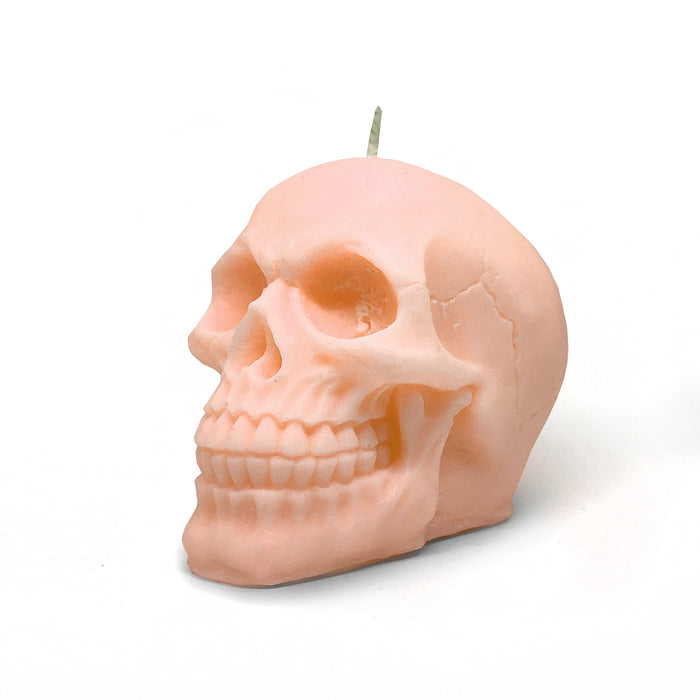 Skull Candle Australia. Pastel Orange - Bean Graced Candle Co. available at The Cosmetix Co