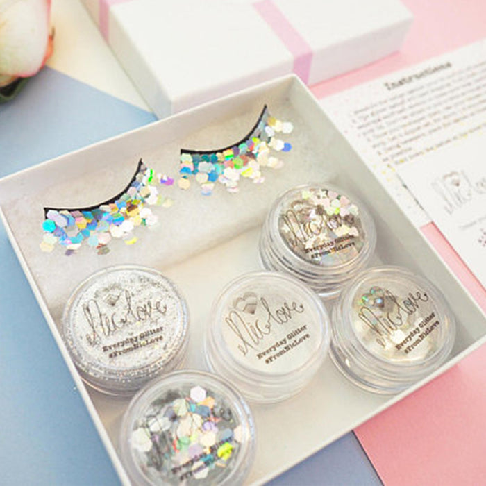 From NicLove | Silver Mermaid Glittery Face Pack - Australia