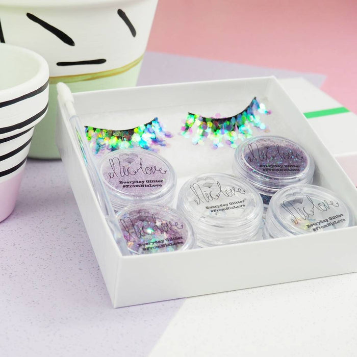 From NicLove |  Purple Glittery Festival Face Pack - Australia