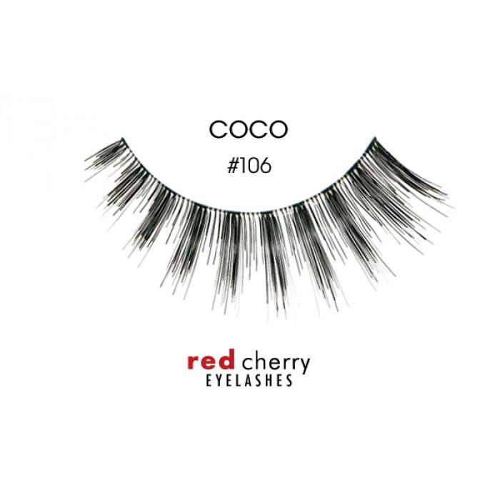 Red Cherry Lashes | RC Coco False Lashes | #106 - Australia-Lashes-The Cosmetix Co-Make-up-Australia-Afterpay