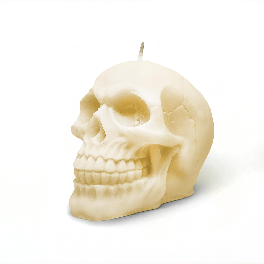 Soy Skull Candle | CHOOSE YOUR OWN COLOUR & SCENT - Australia-Candles-The Cosmetix Co-Make-up-Australia-Afterpay