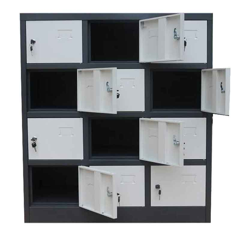 Storage Cabinet | Metal Storage Cabinet | 12 Door Cabinet | Unassembled Locker