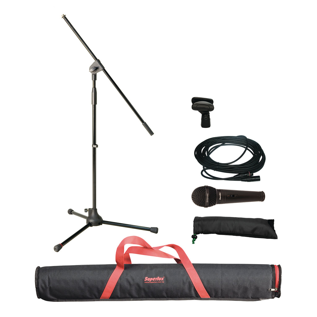 SUPERLUX MSKA MICROPHONE PACKAGE