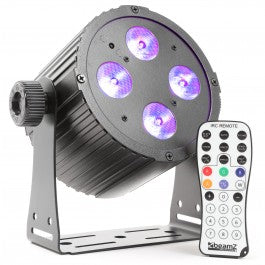 BEAMZBEAMZ BAC 404 PRO PAR 4X 18W HEX DMX IR - Harry Green Music World - Buy online