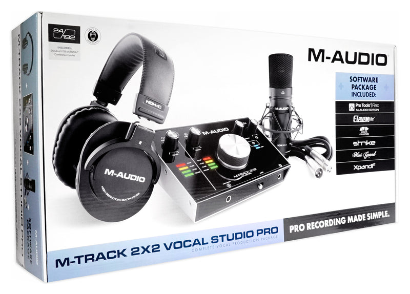 M-AUDIO MTRACK2X2SPRO VOCAL PRODUCTION PACK