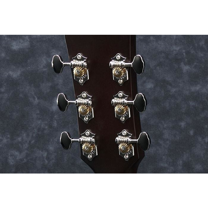 Grover® Chrome Open Gear Tuners w/Butterbean Knobs