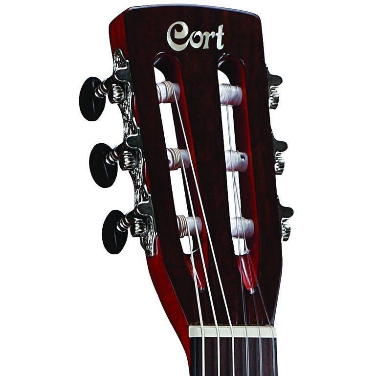 SLOTTED HEADSTOCK AND CLASSICAL-STYLE MACHINE HEADS