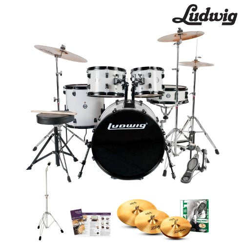 "LUDWIG ACCENT FUSE 5PC 20""/22"""