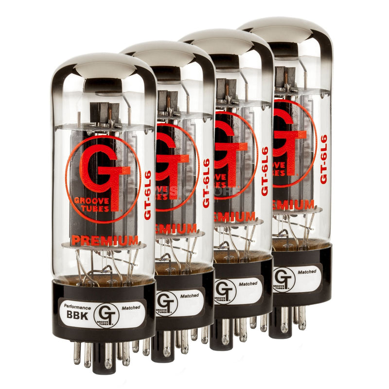 FENDERGROOVE TUBES GT-6L6-S QUARTETS (RATED 1-10) - Harry Green Music World - Buy online