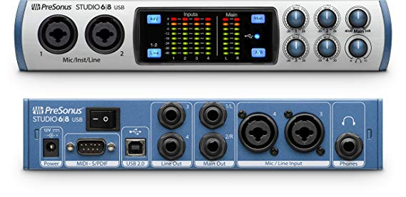 PRESONUS STUDIO 68 INTERFACE