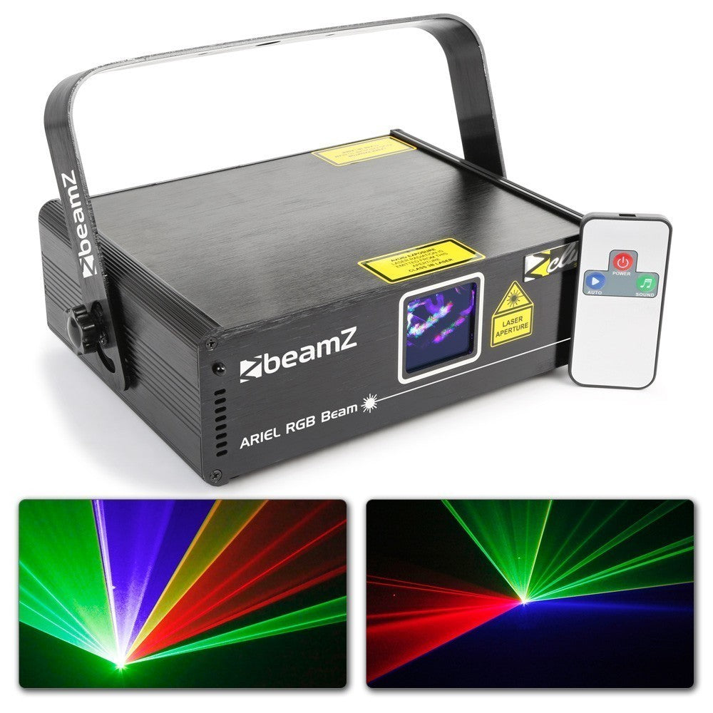 BEAMZBEAMZ ARIEL LASER RGB DMX IRC 350MW - Harry Green Music World - Buy online