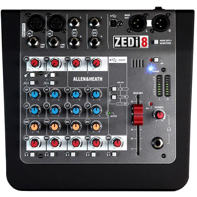 ALLEN & HEATH ZEDi-8 TOP