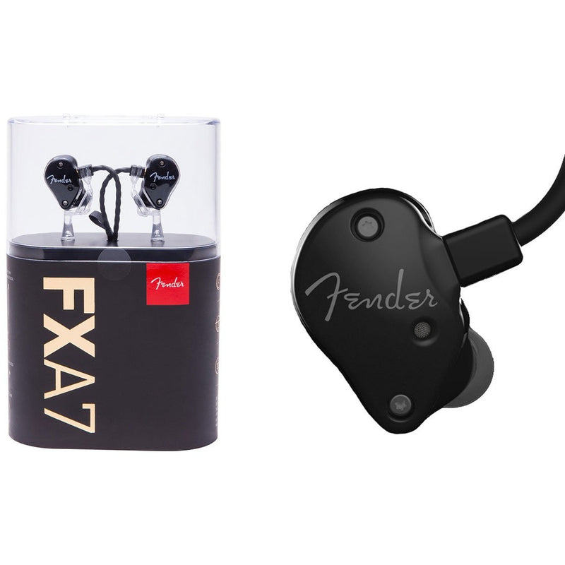 FENDER FXA7 IN EAR MONITOR BLACK