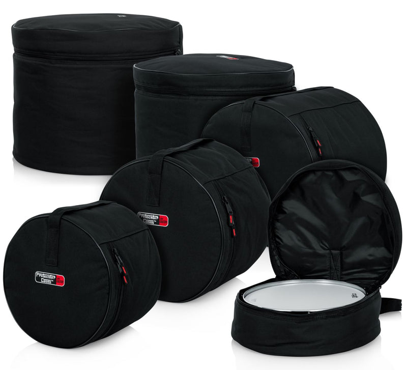 GATOR 5 PIECE STANDARD DRUM KIT BAGS