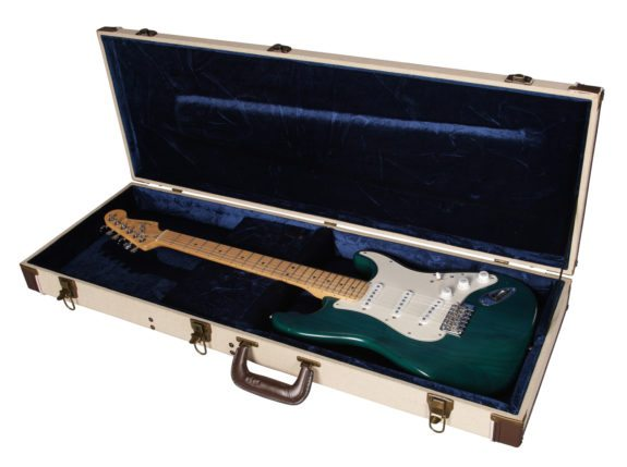 GATOR JOURNEYMAN ELECTRIC GUITAR WOOD CASE DELUXE