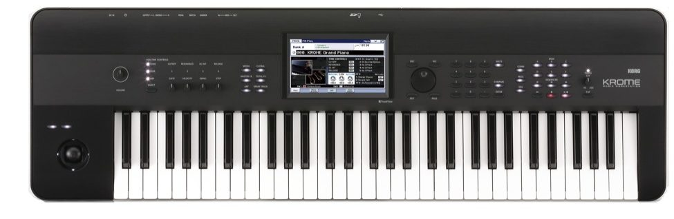 Harry Green Music WorldKORG KROME 61 KEY - Harry Green Music World - Buy online