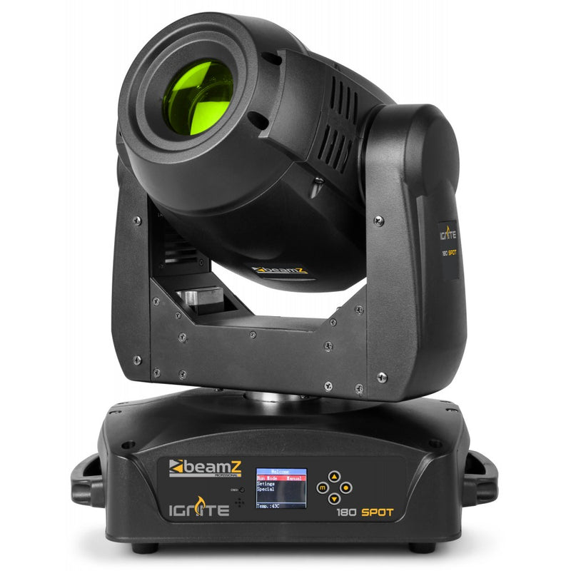 BEAMZBEAMZ IGNITE 180 LED MOVING HEAD SPOT - Harry Green Music World - Buy online