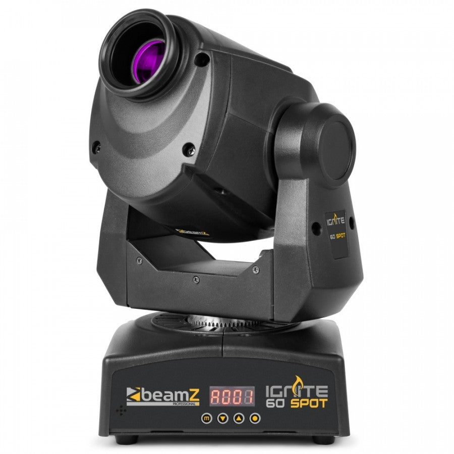 BEAMZBEAMZ IGNITE60 LED MOVING HEAD SPOT - Harry Green Music World - Buy online