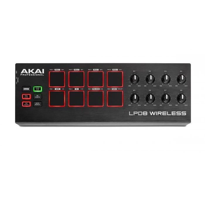 AKAI LPD8 WIRELESS TOP
