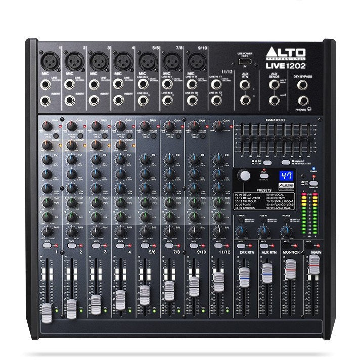ALTO PROFESSIONAL LIVE 1202 TOP