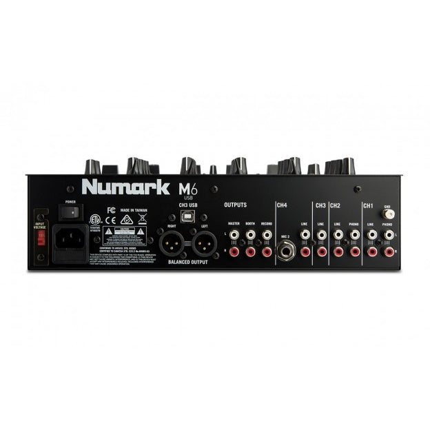 NUMARK M6 USB BACK