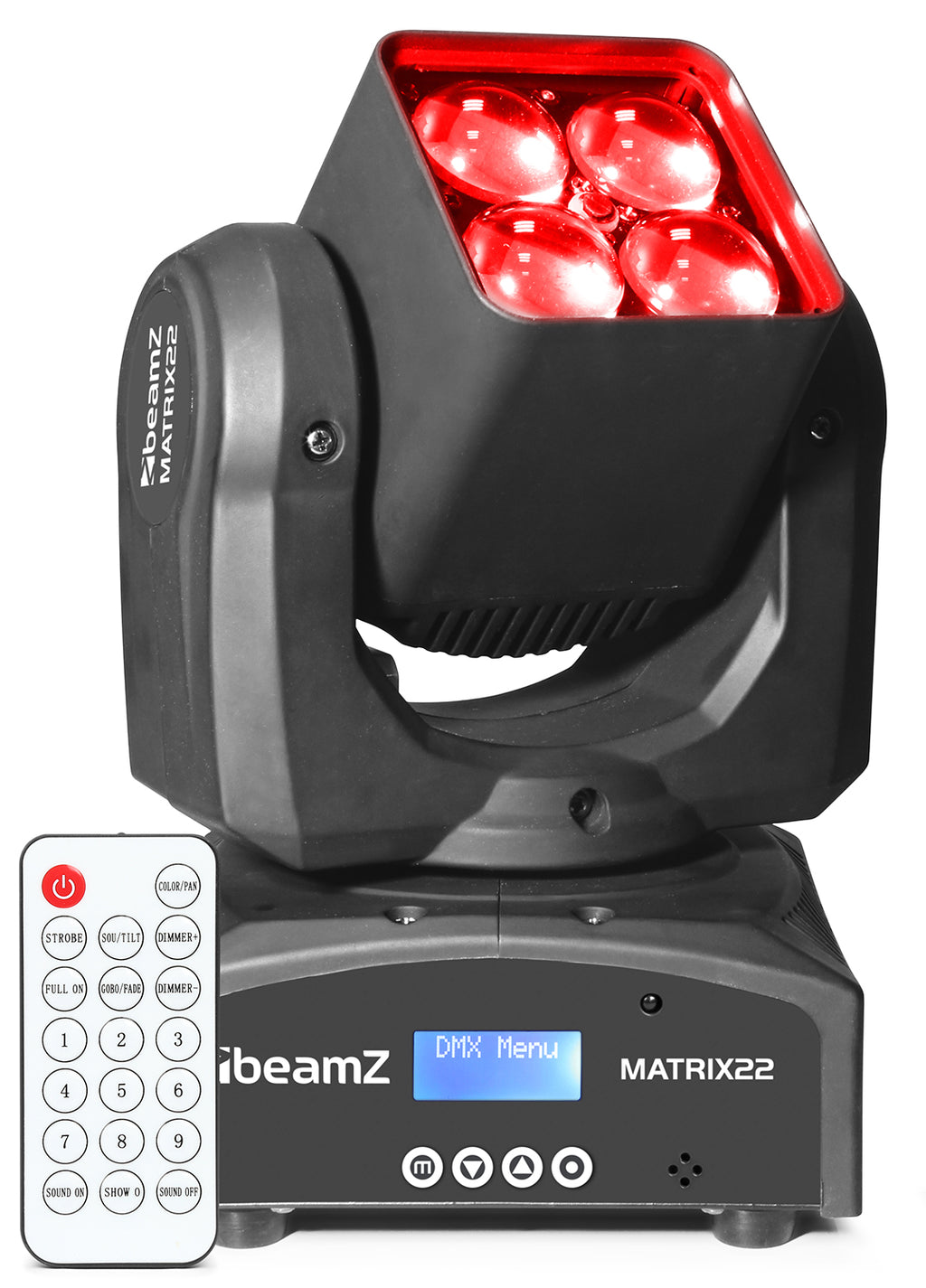 BEAMZBEAMZ MATRIX22Z LED MOVING HEAD - Harry Green Music World - Buy online