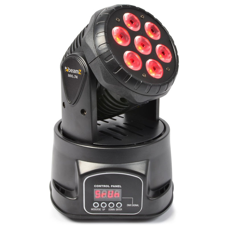 BEAMZBEAMZ MHL-74 LED MOVING HEAD WASH - Harry Green Music World - Buy online