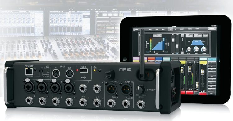 MIDAS MR12 DIGITAL MIXER